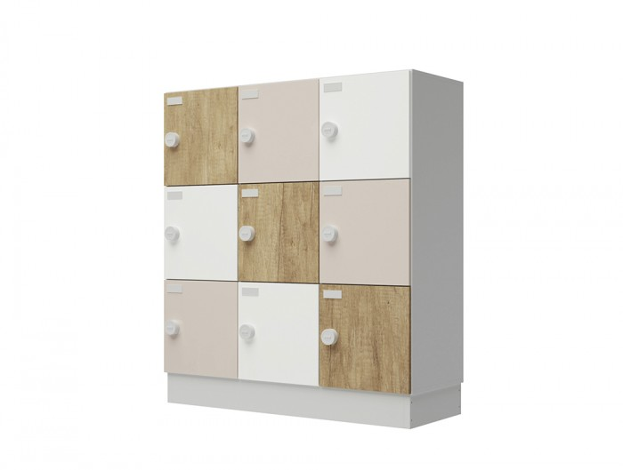 Buronomic Eko Monoblock Lockers with Standard Doors