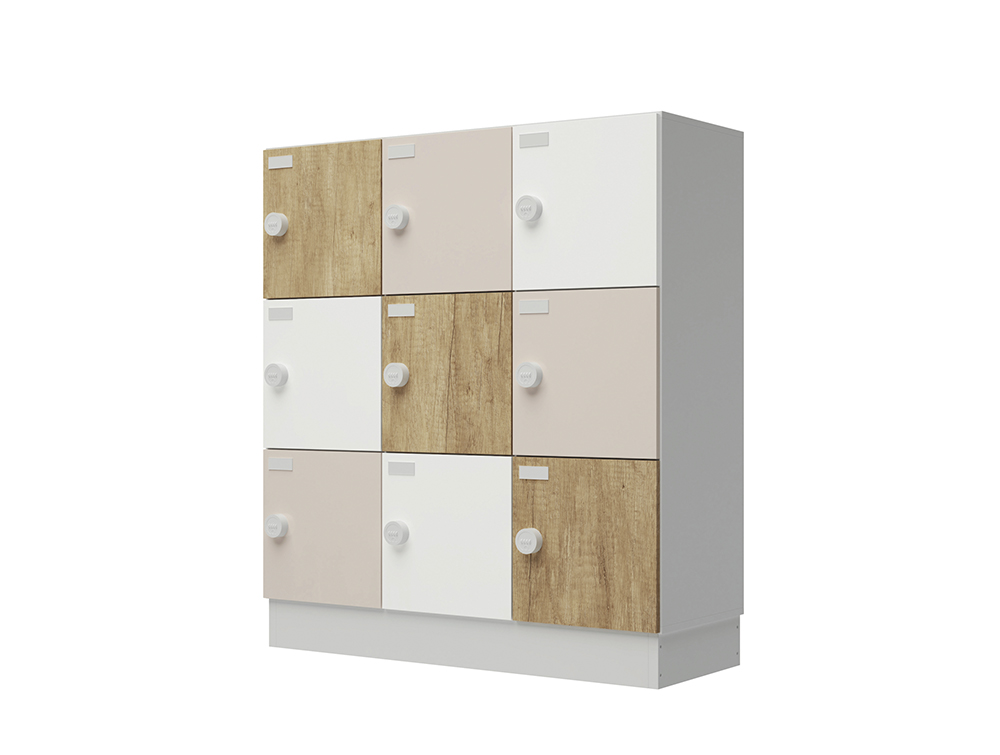 Buronomic Eko Monoblock Lockers with Standard Doors