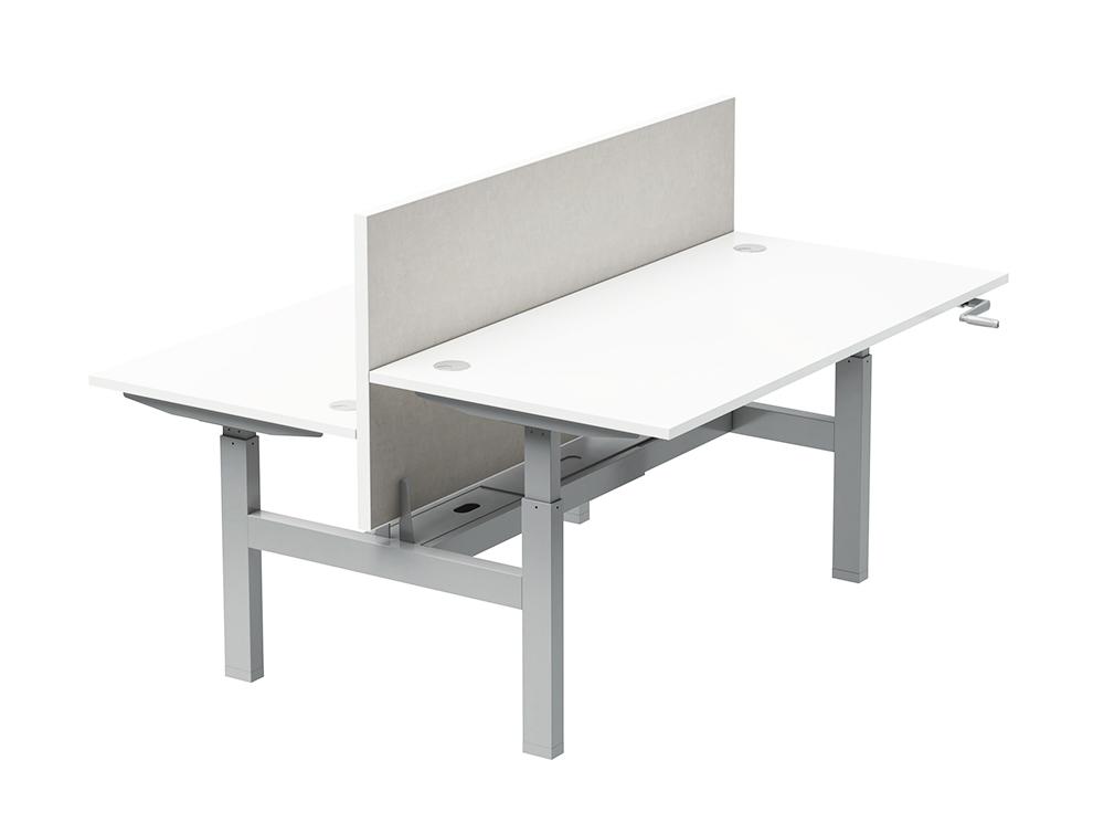 Buronomic Envol Classic High Adjustable Leg Desk with Crank