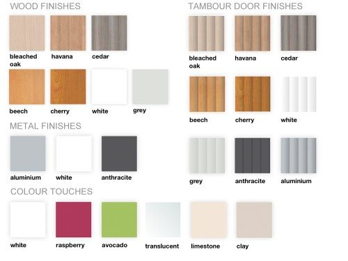 Buronomic Office Furniture Available Finishes