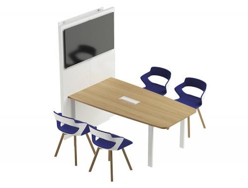 Buronomic Visio Hub Connected Collaborative Table