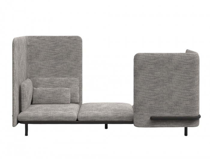 BuzziSpark-Acoustic-3-Seat-Relaxation-Pod-Grey