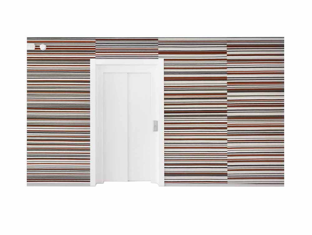 BuzziBrickBack Sound-Absorbing Wall Paper
