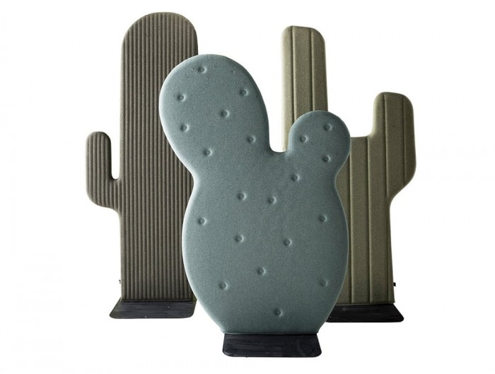 BuzziCactus Movable Acoustic Panel Taco Gringo TexMex in Green