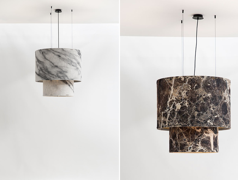 BuzziChandelier-Traditional-Style-Acoustic-Pendant-Ceiling-Light-Printed-Emperada-or-Carrara