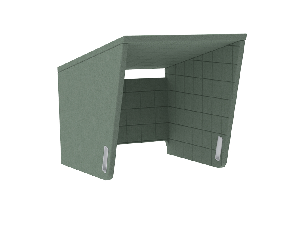 BuzziCockpit-Single-Over-the-Workstation-Portable-Acoustic-Cover-Green