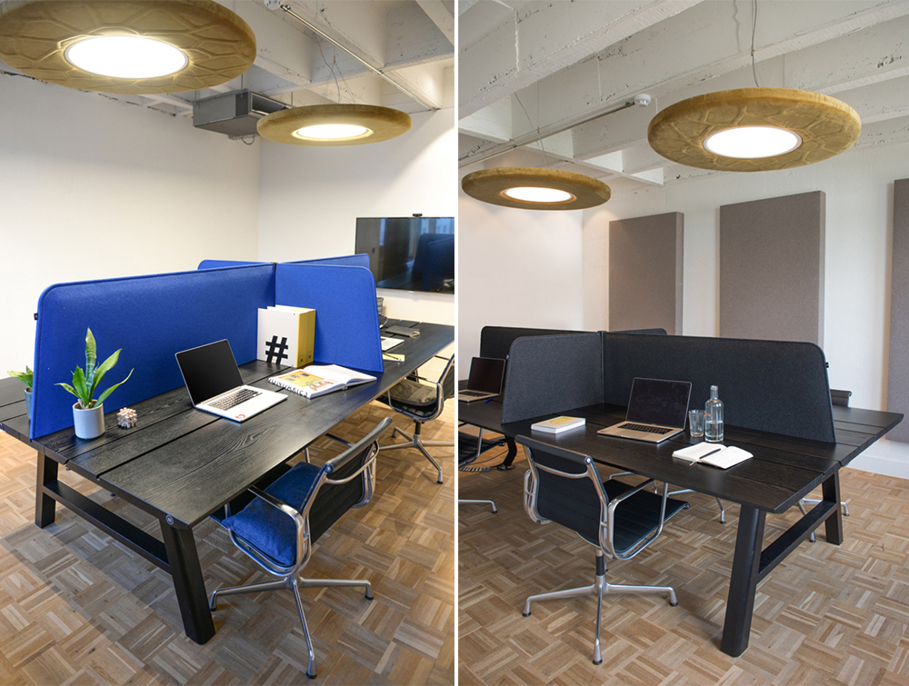 BuzziDesk-Cross-Acoustic-TableTop-Partition-in-Meeting-Room-Blue-and-Black