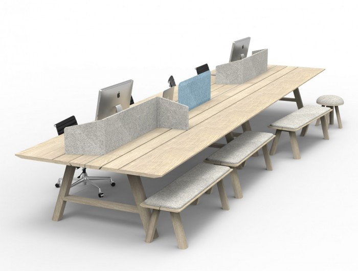 BuzziDesk-Flexible-Acoustic-Workstation-Screen-on-Table-Open-Space