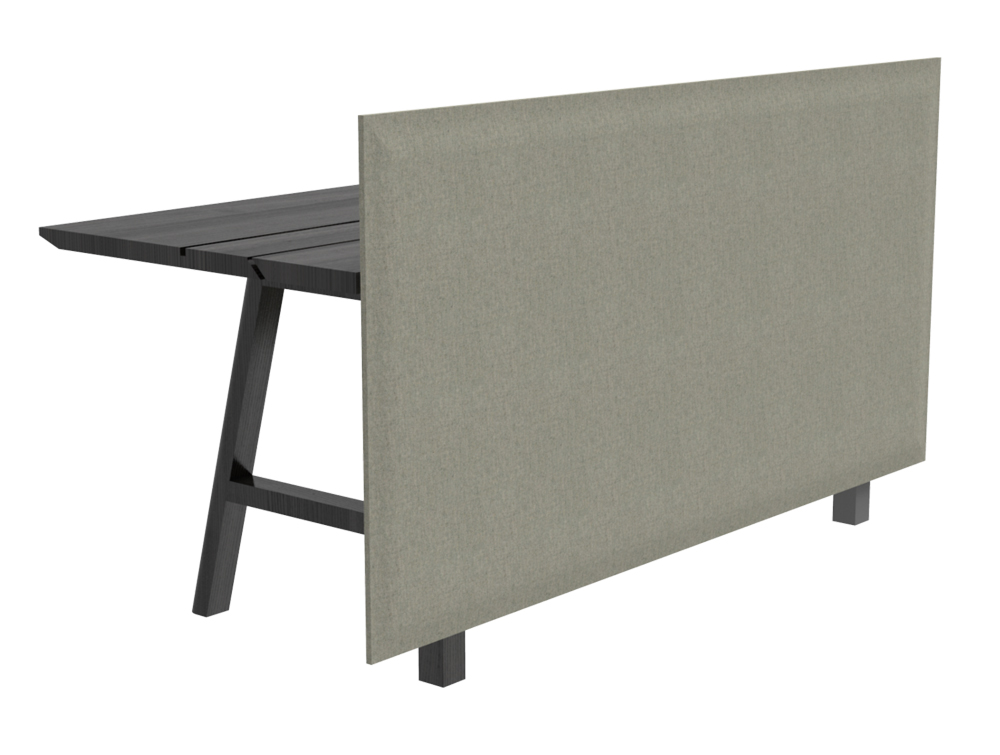 BuzziDesk Front Acoustic Desk Screen