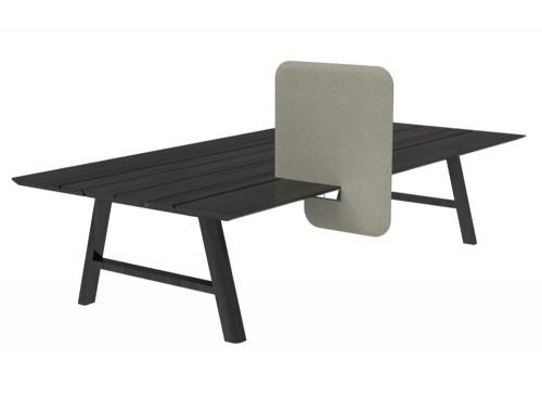 BuzziDesk-Split-Acoustic-Desktop-Divider-Grey-on-Black-Table