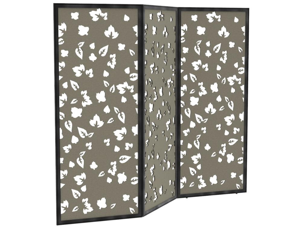 BuzziFalls Standing Trio Custom Designed Freestanding Acoustic Screen