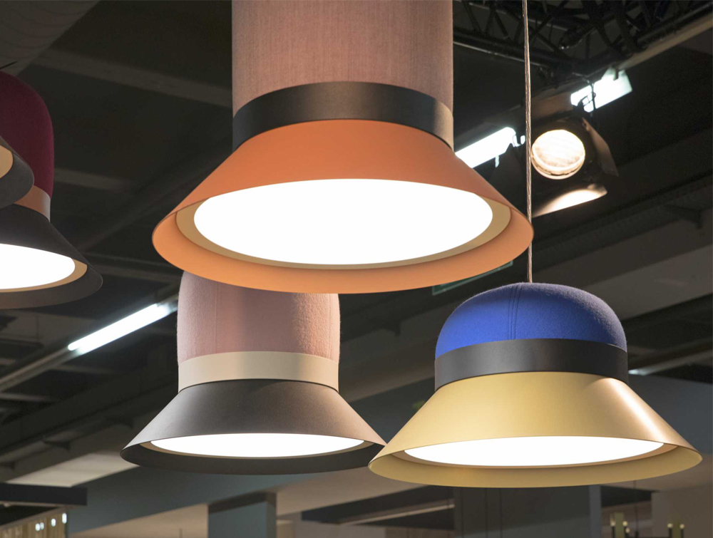 BuzziHat-Acoustic-Pendant-Ceiling-Light-Different-Fabrics