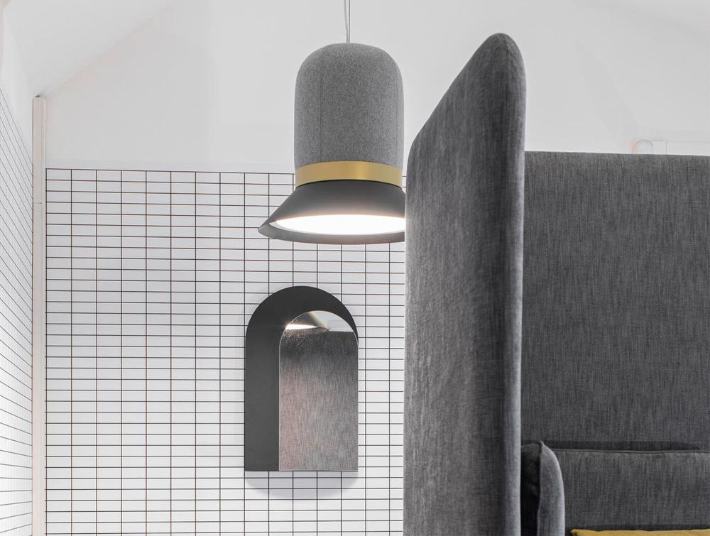 BuzziHat-Extra-Large-Acoustic-Pendant-Ceiling-Light-Grey-with-BuzziSpark