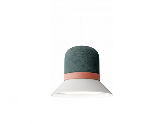 BuzziHat-Medium-Pendant-Ceiling-Pendant-Grey-Pink-and-Green