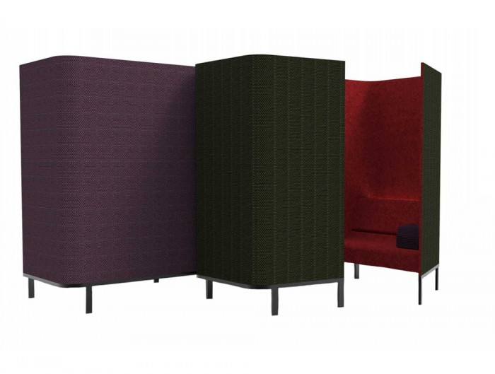 BuzziHive-Acoustic-Meeting-Pods-Cocoon-Purple-Red-Green