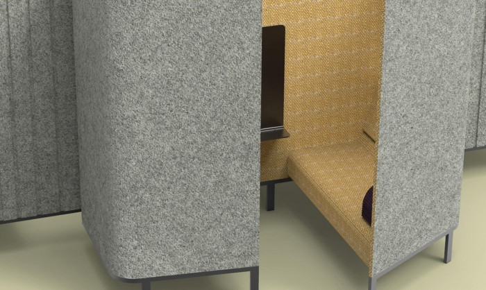 BuzziHive-Acoustic-Meeting-Pods-Temporary-Work-Bicolor-Grey-and-Yellow