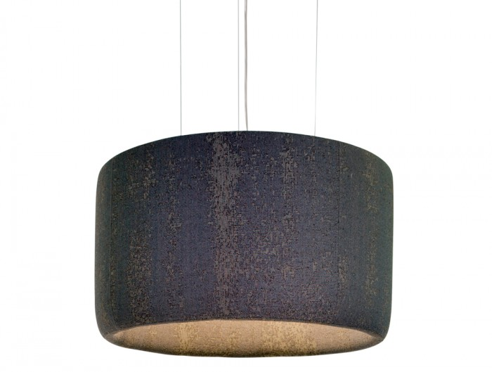 BuzziJet-Acoustic-Circular-Pendant-Ceiling-Light-Brown-Medium
