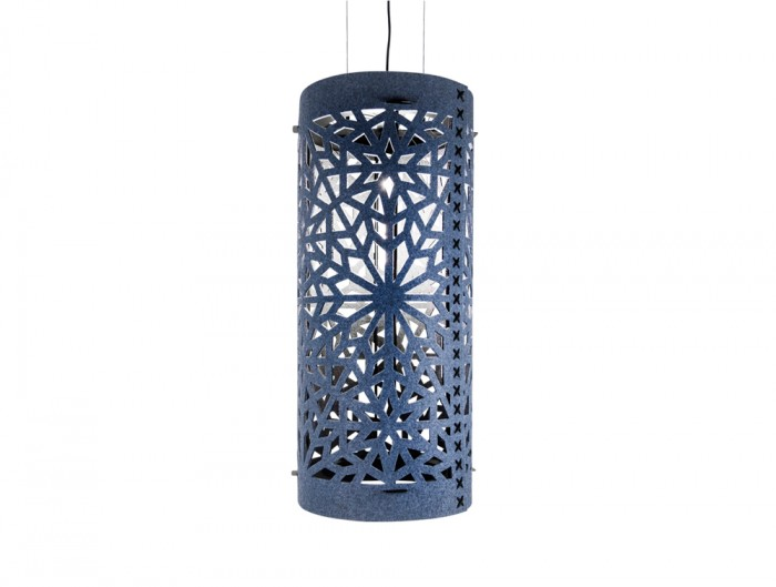 BuzziLight-Alhambra-XL-High-Decorative-Acoustic-Ceiling-Light-Blue