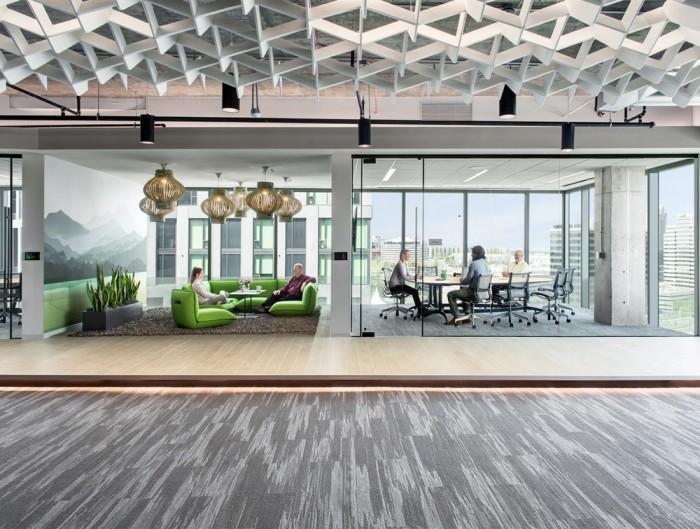 BuzziLight-Mono-Decorative-Acoustic-Ceiling-Light-Meeting-Room-Office-Sofa-Green
