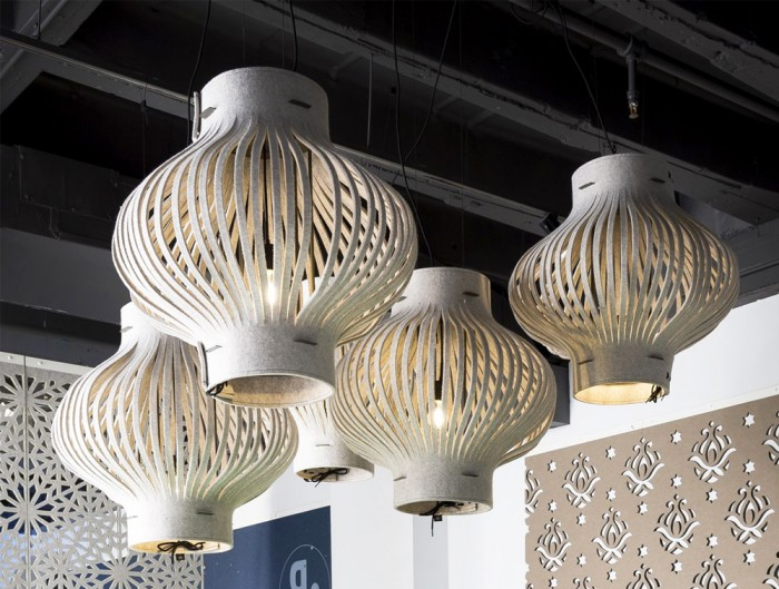 BuzziLight-Mono-Decorative-Acoustic-Ceiling-Light-White