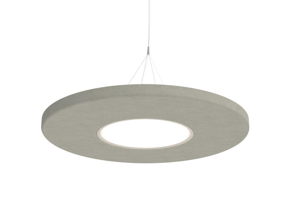 BuzziMoon Ring Shaped Acoustic Ceiling Light