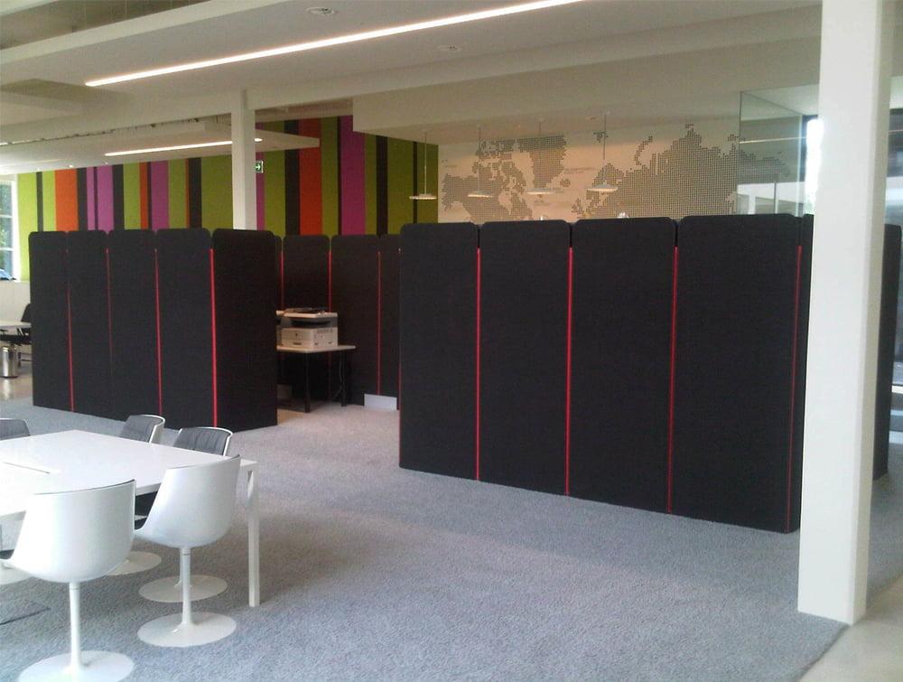 BuzziScreen Modular Freestanding Acoustic Office Divider for Open Plan