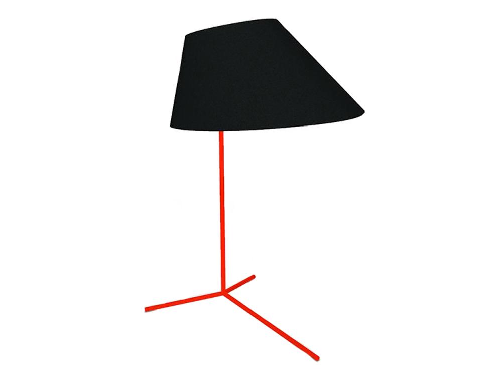 BuzziShade-Acoustic-Freestanding-Overhead-Light-Black-and-Fluo-Orange-Frame
