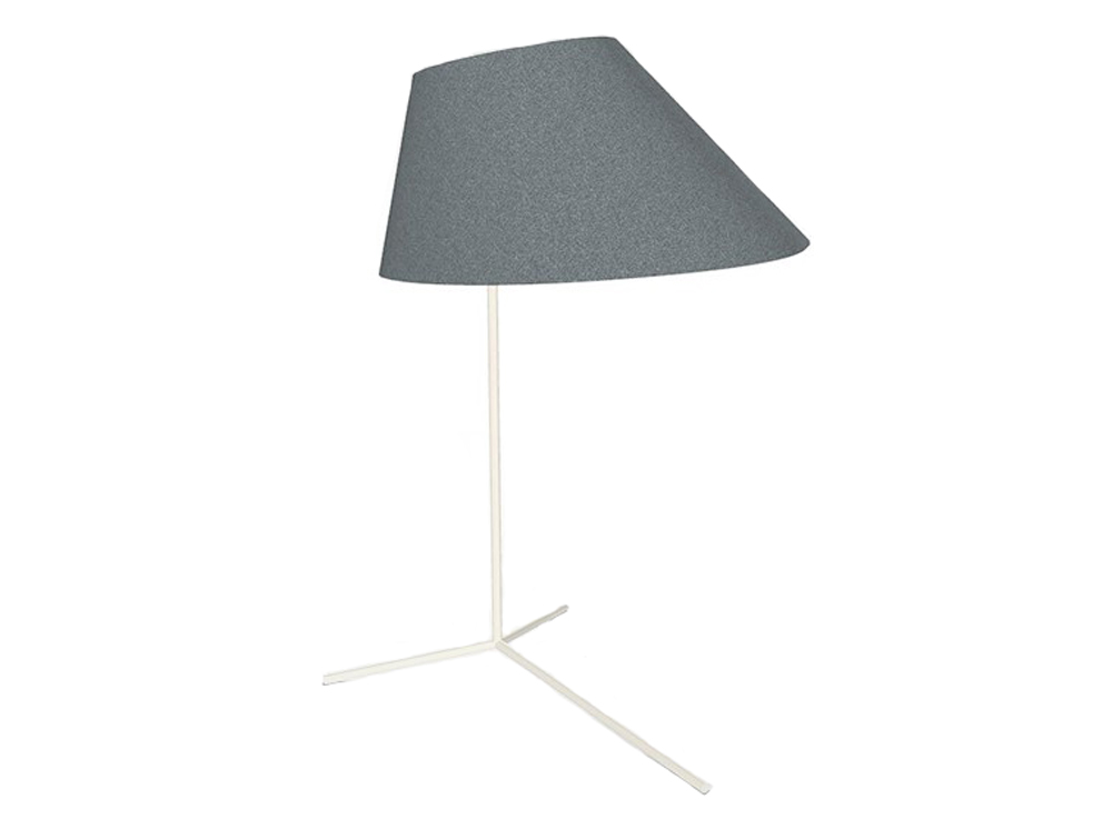 BuzziShade-Acoustic-Freestanding-Overhead-Light-Grey-and-White-Frame
