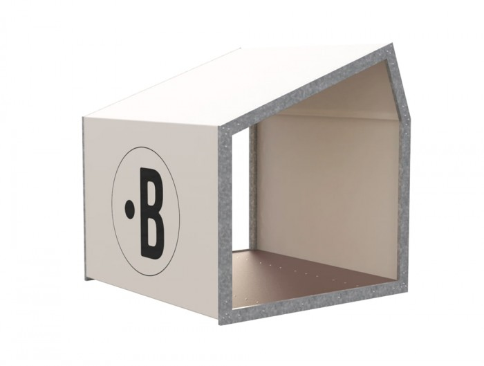 BuzziShed-Close-Outdoor-Shelter-for-Canteen-en-Meeting-White-Pierre-with-Antiskid-Plywood-Floor