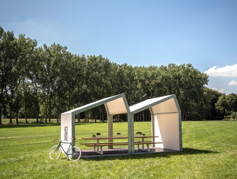 BuzziShed-Outdoor-Shelter-for-Canteen-and-Meeting-in-a-Garden-White-