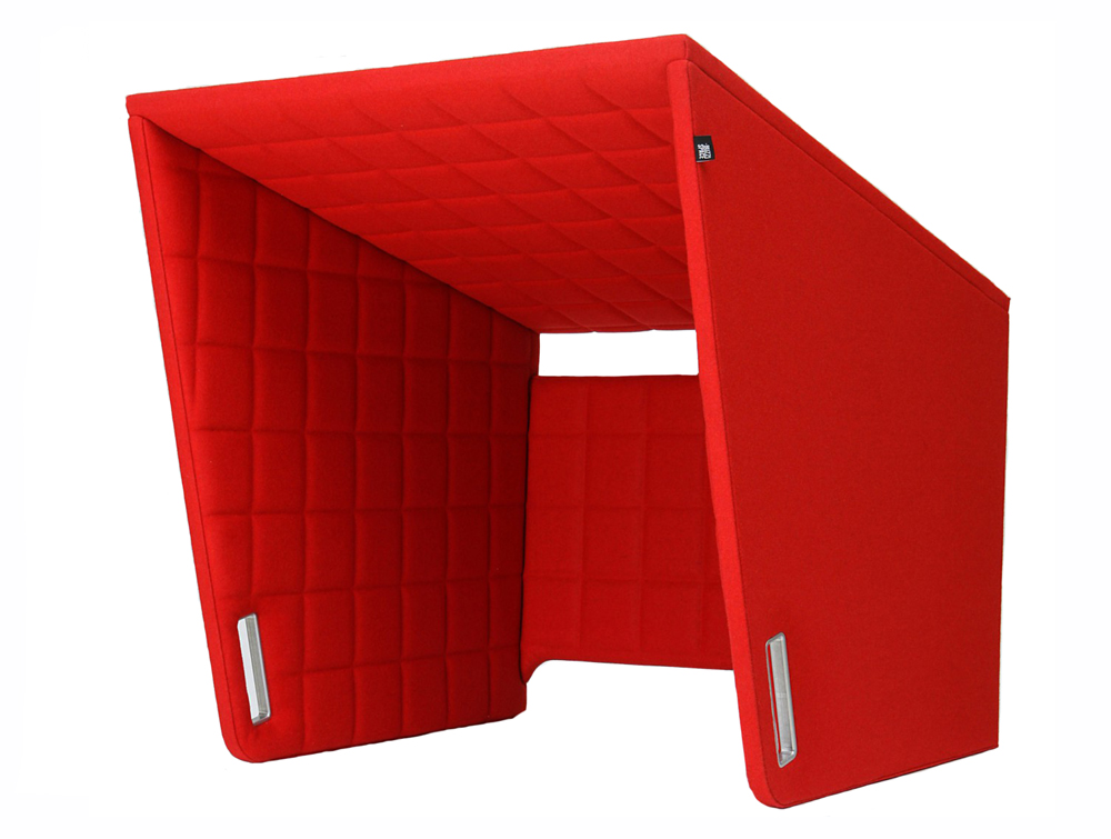 BuzziSpace-Cockpit-Over-the-Workstation-Portable-Acoustic-Cover-Red