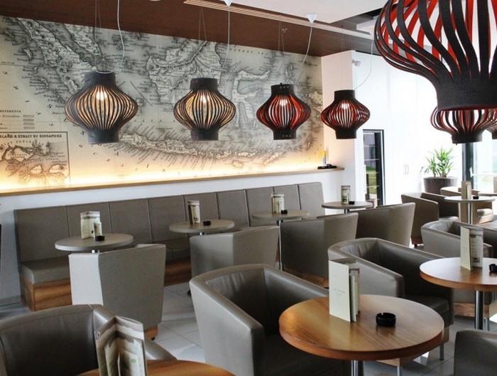 BuzziSpace-Mono-Decorative-Acoustic-Ceiling-Light-Restaurant-Black-Red-Grey-White