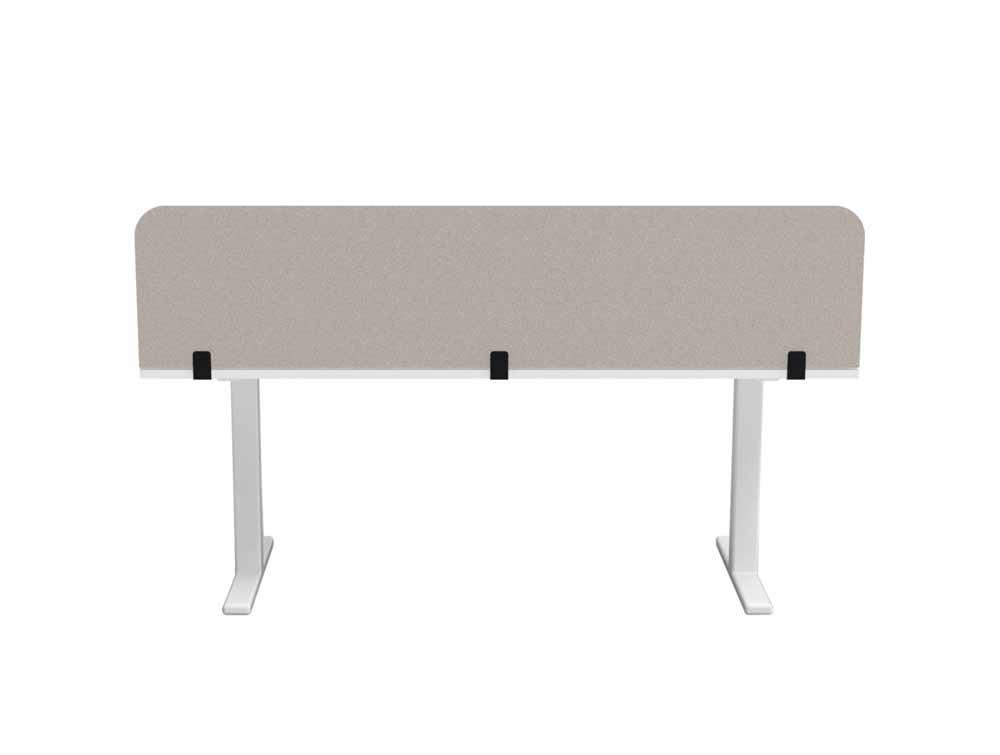 BuzziTripl Desk Straight-Forward Desk Partition