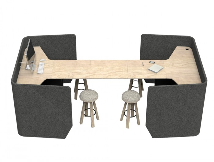 BuzziVille-Modular-Freestanding-Acousti-Configuration-Cocoon-Dark-Grey-Beech-Desk-and-Stool-Side-Grommet