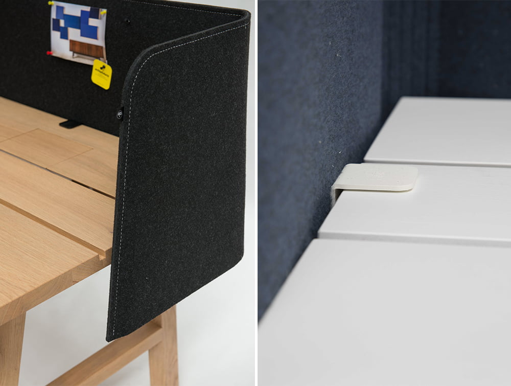 BuzziWrap-Front-Desk-Acoustic-Screen-Stitch-and-Table-Fixation-and-Distance-Holder
