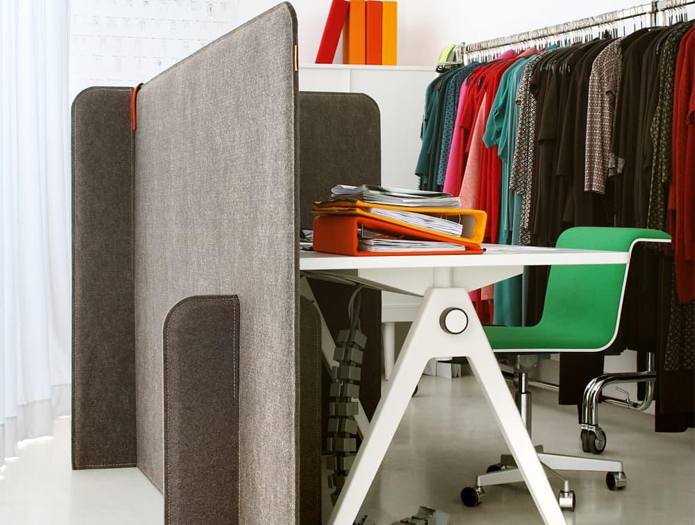 BuzziZone Acoustic Freestanding Room Partition Work Corner
