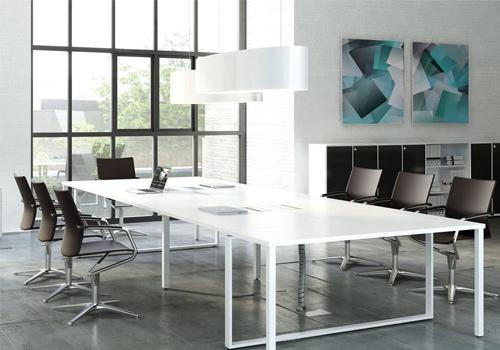 Ceiling Lighting Meeting Room Ellipse High Gloss White