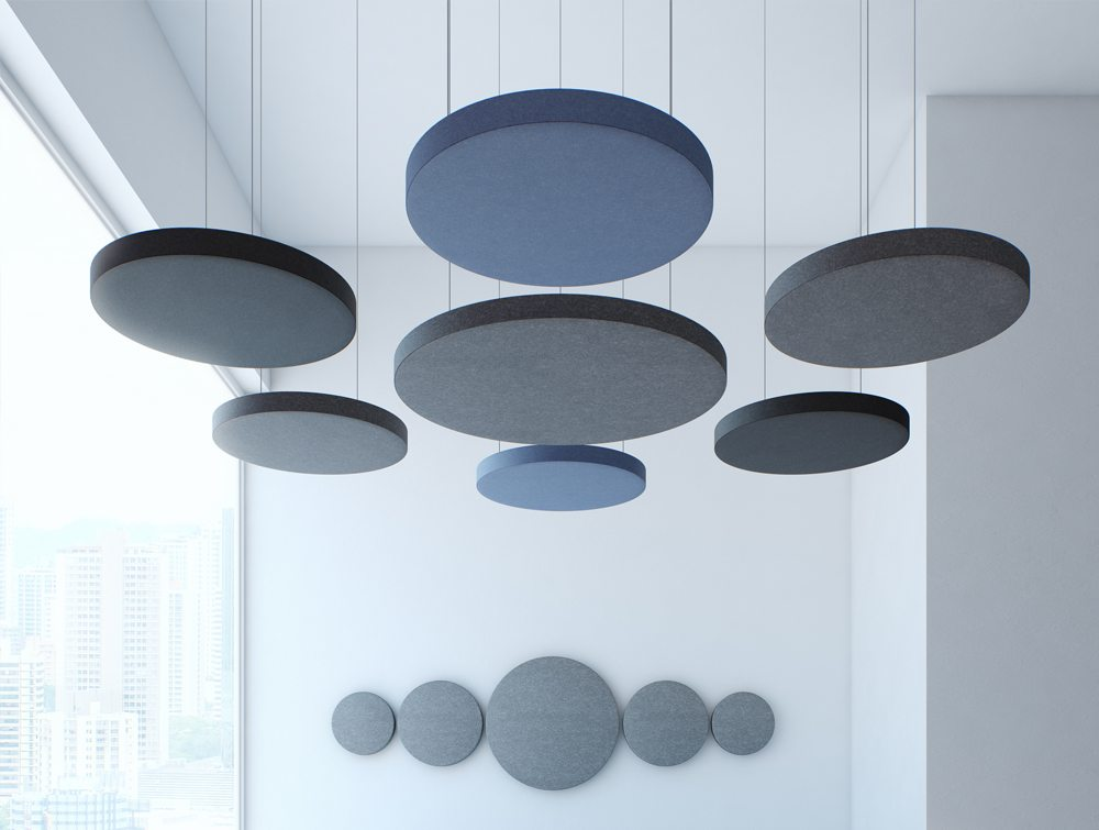 Ceiling Suspended Mounted Acoustic Panels