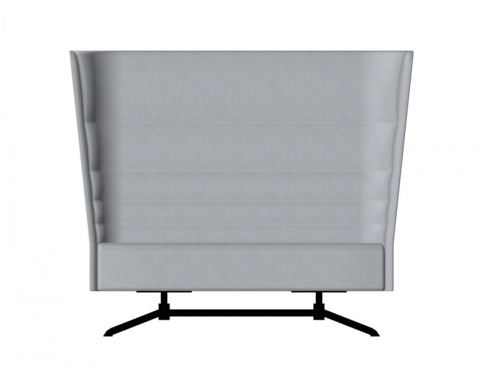 Cell128 2-Seater Sofa with 4 Spoke Steel Base 1