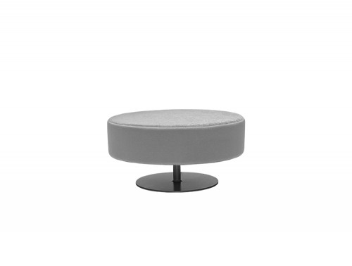 CellDot Pouf with Round Steel Central Base