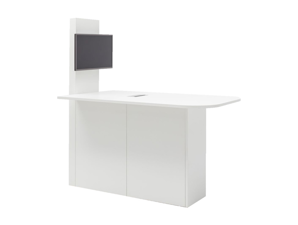 Concur Multimedia Meeting Station with Storage