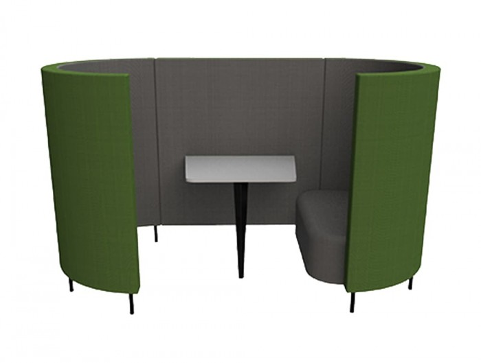 Delia-2-Seater-Meeting-Den-with-Table-with-Grey-Interior-and-Green-Exterior-and-One-Seat.jpg