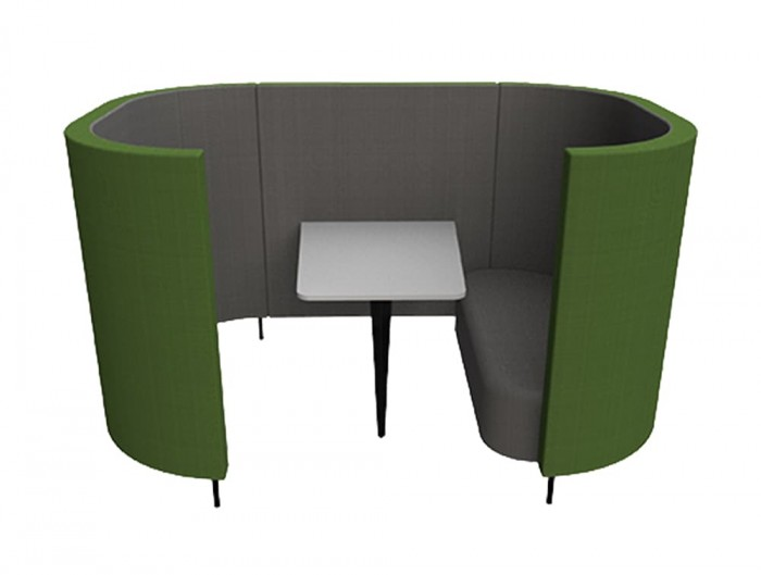 Delia-4-Seater-Meeting-Den-with-Table-with-Grey-Interior-and-Green-Exterior-and-One-Seat.jpg