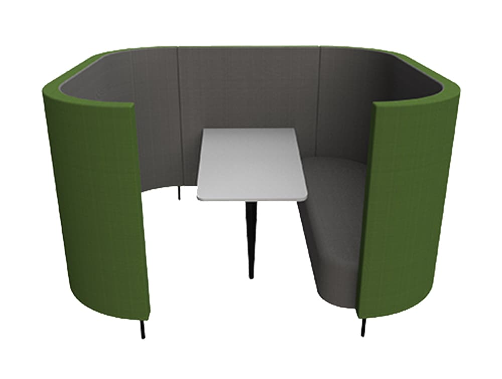Delia-6-Seater-Meeting-Den-with-Table-with-Grey-Interior-and-Green-Exterior-and-One-Seat.jpg