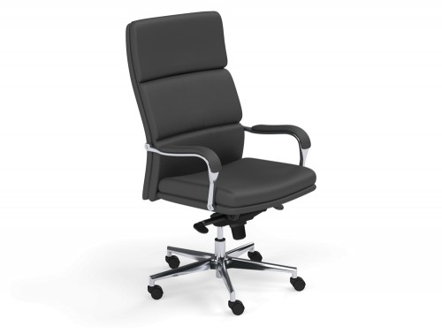 Denver High Back Executive Chair in L001 Black