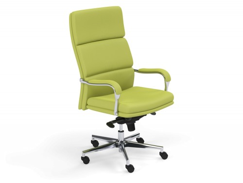 Denver High Back Executive Chair in L051 Green
