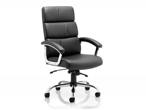Desire Executive Chair Black With Arms With Headrest Featured Image