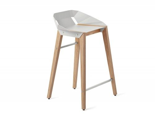 Diago Modern Kitchen Stool -WGY-OAK