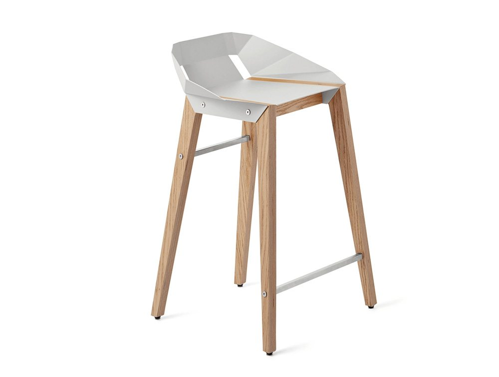 Diago Modern Kitchen Stool  WGY OAK