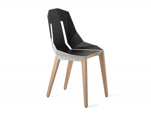 Diago Modern Leather Canteen Chair -WGY-OAK